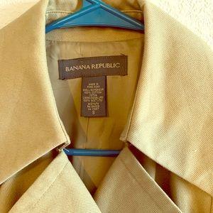 Small Banana Republic Trench Coat